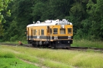 SRS 124 Sperry Rail Service car on the KCS